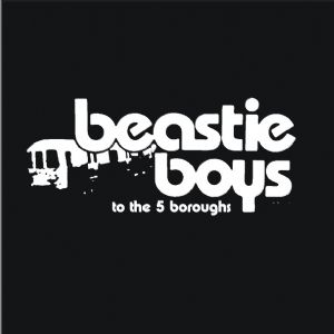 WOMENS `BEASTIE BOYS TO THE 5 BOROUGHS` T-SHIRT